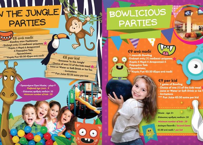 Children's parties available, Bowling and/or Soft Play Areas